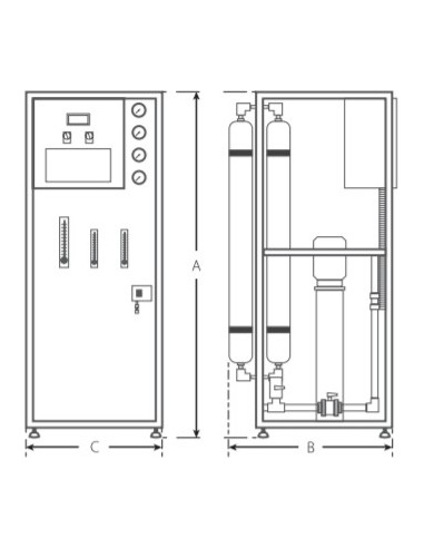 Filtro remineralizador manual